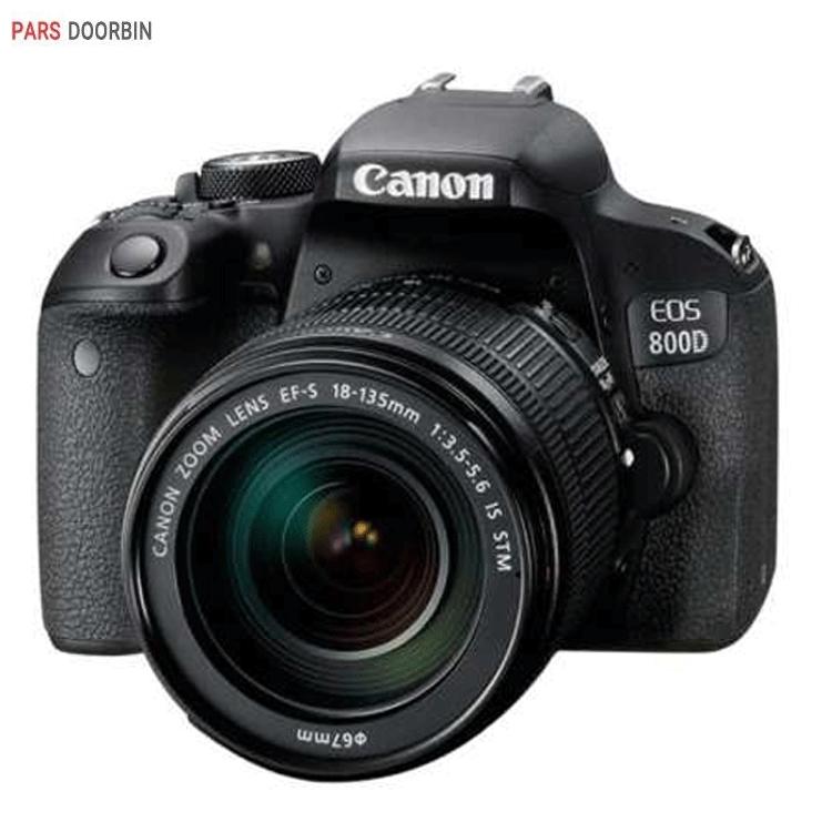 دوربین عکاسی کانن مدل EOS 800D به همراه لنز 18-135