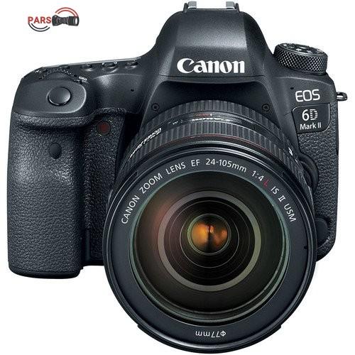 دوربین عکاسی کانن مدل EOS 6D Mark II به همراه لنز 24-105