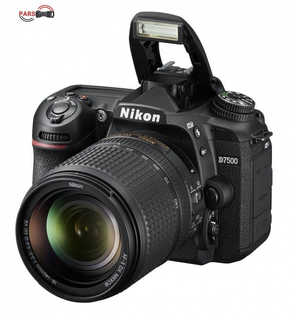 دوربین عکاسی نیکون مدل D7500 به همراه لنز 18-140