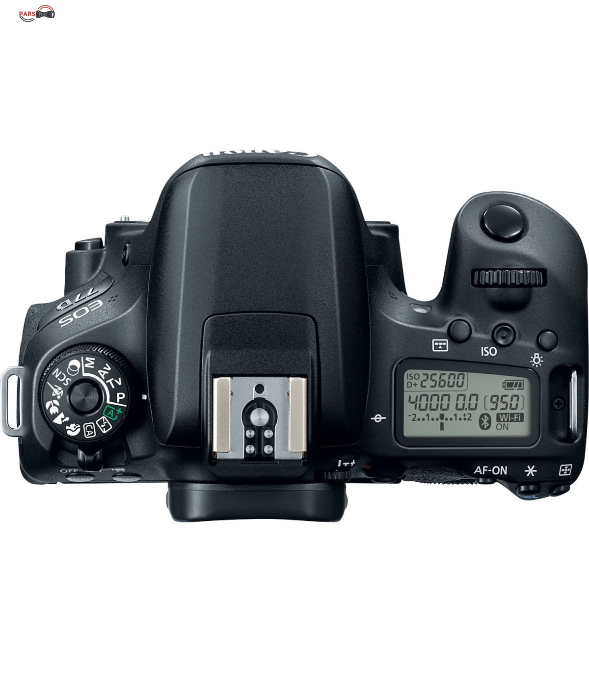 دوربین عکاسی کانن مدل EOS 77D به همراه لنز 18-55 میلی متر
