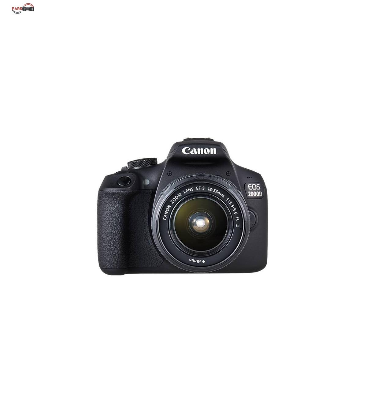 دوربین عکاسی کانن مدل EOS 2000D به همراه لنز 18-55 میلی متر IS II