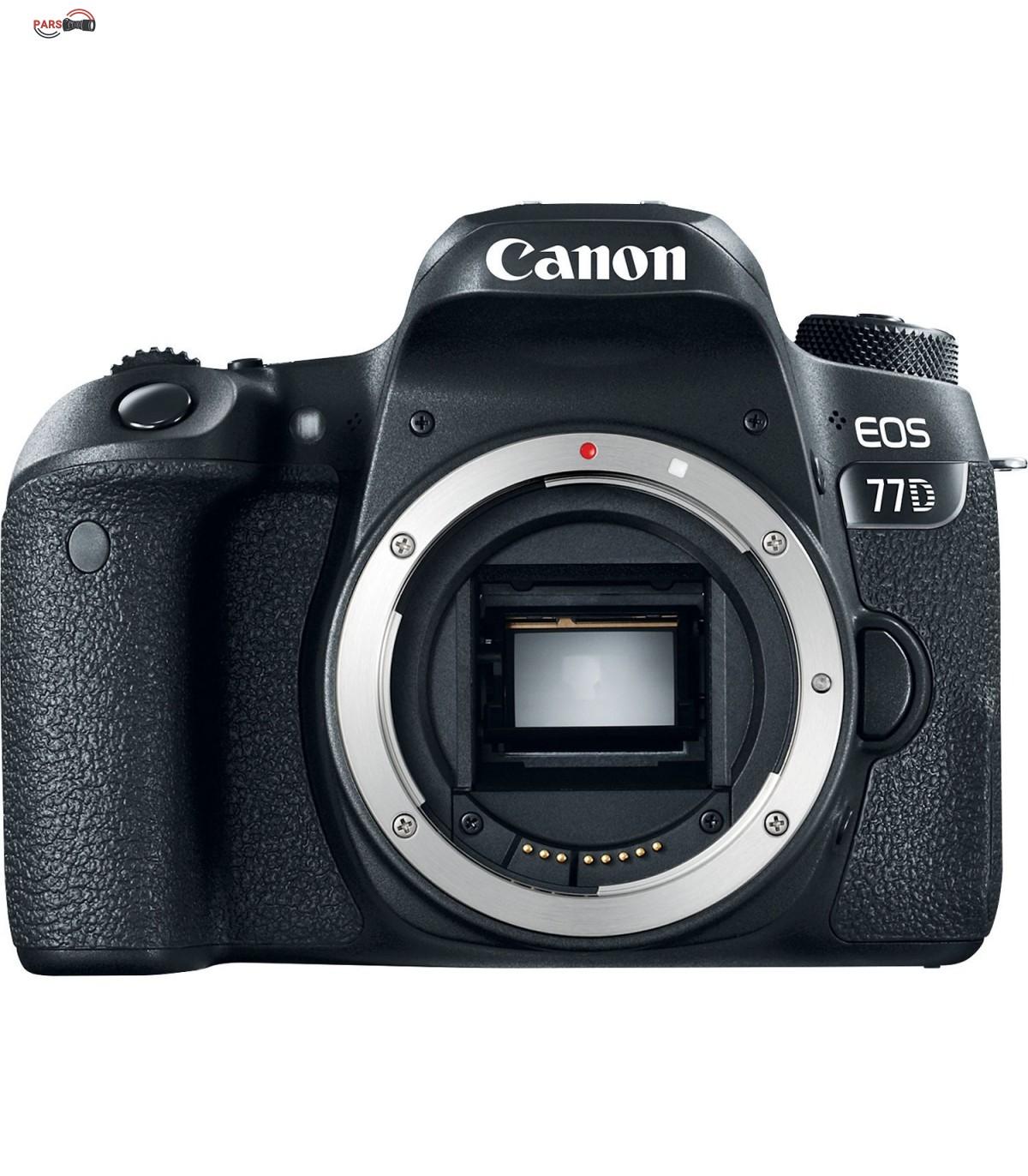 دوربین عکاسی کانن مدل EOS 77D به همراه لنز 18-135 میلی متر IS USM