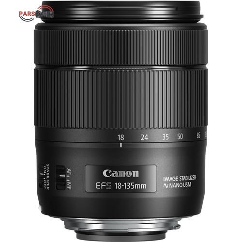 لنز دوربین کانن مدل 18-135 میلی متر IS USM