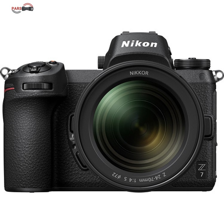 دوربین عکاسی بدون آینه نیکون مدل Z7 به همراه لنز 24-70 میلی متر f/4 S