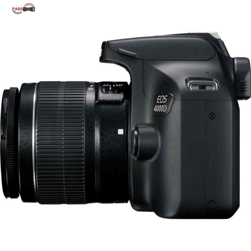 دوربین عکاسی کانن مدل EOS 4000D به همراه لنز 18-55 میلی متر DC III