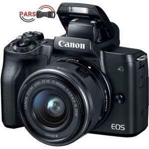 دوربین عکاسی بدون آینه کانن مدل EOS M50 به همراه لنز 15-45 میلی متر