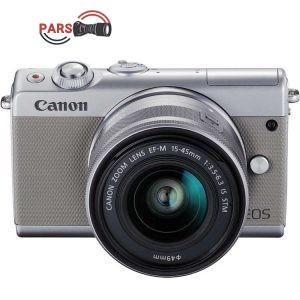 دوربین بدون آینه کانن مدل EOS M100 به همراه لنز 15-45 میلی متر