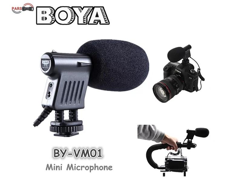 میکروفن ضبط صدا بویا مدل BY-VM01