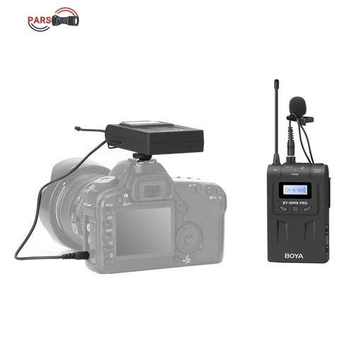 میکروفون بی سیم بویا مدل BY-MW8 PRO K1