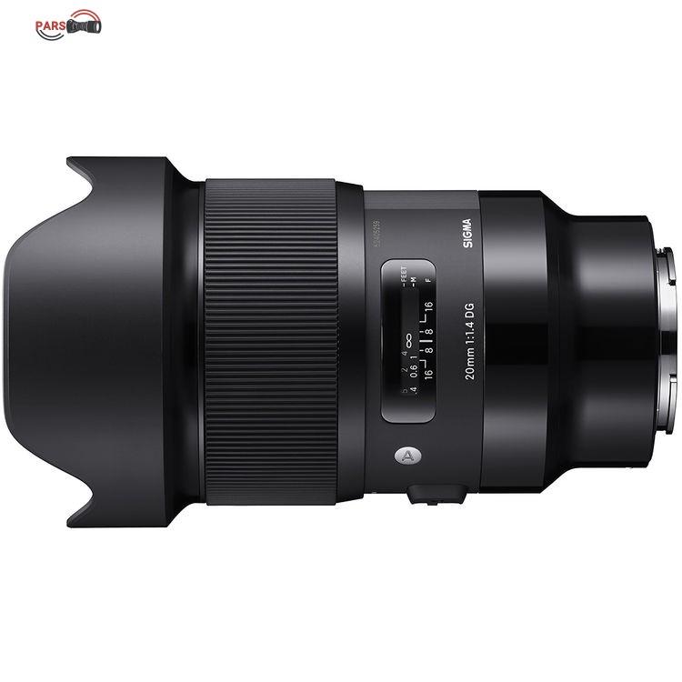 لنز سیگما Sigma 20mm f/1.4 DG for Sony E