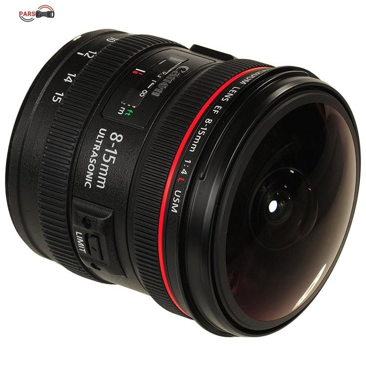 لنز کانن Canon EF 8-15mm f/4L Fisheye
