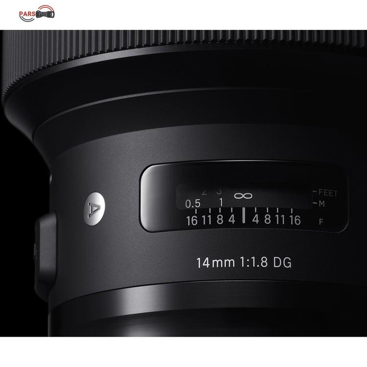 لنز سیگما Sigma 14mm f/1.8 for Canon