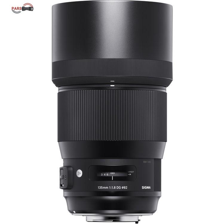 لنز سیگما Sigma 135mm f/1.8 for Canon