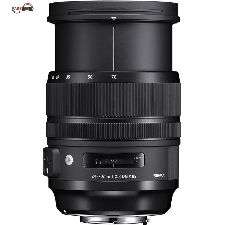 لنز سیگما Sigma 24-70mm f/2.8 for Canon