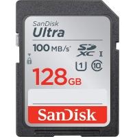 کارت حافظه SDXC سن دیسک مدل Ultra کلاس 10 استاندارد UHS-I U1 سرعت 100MBps ظرفیت 64 گیگابایت