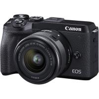 دوربین بدون آینه کانن Canon EOS M6 Mark II kit 15-45mm